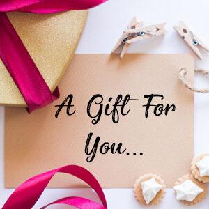 fancy gift card